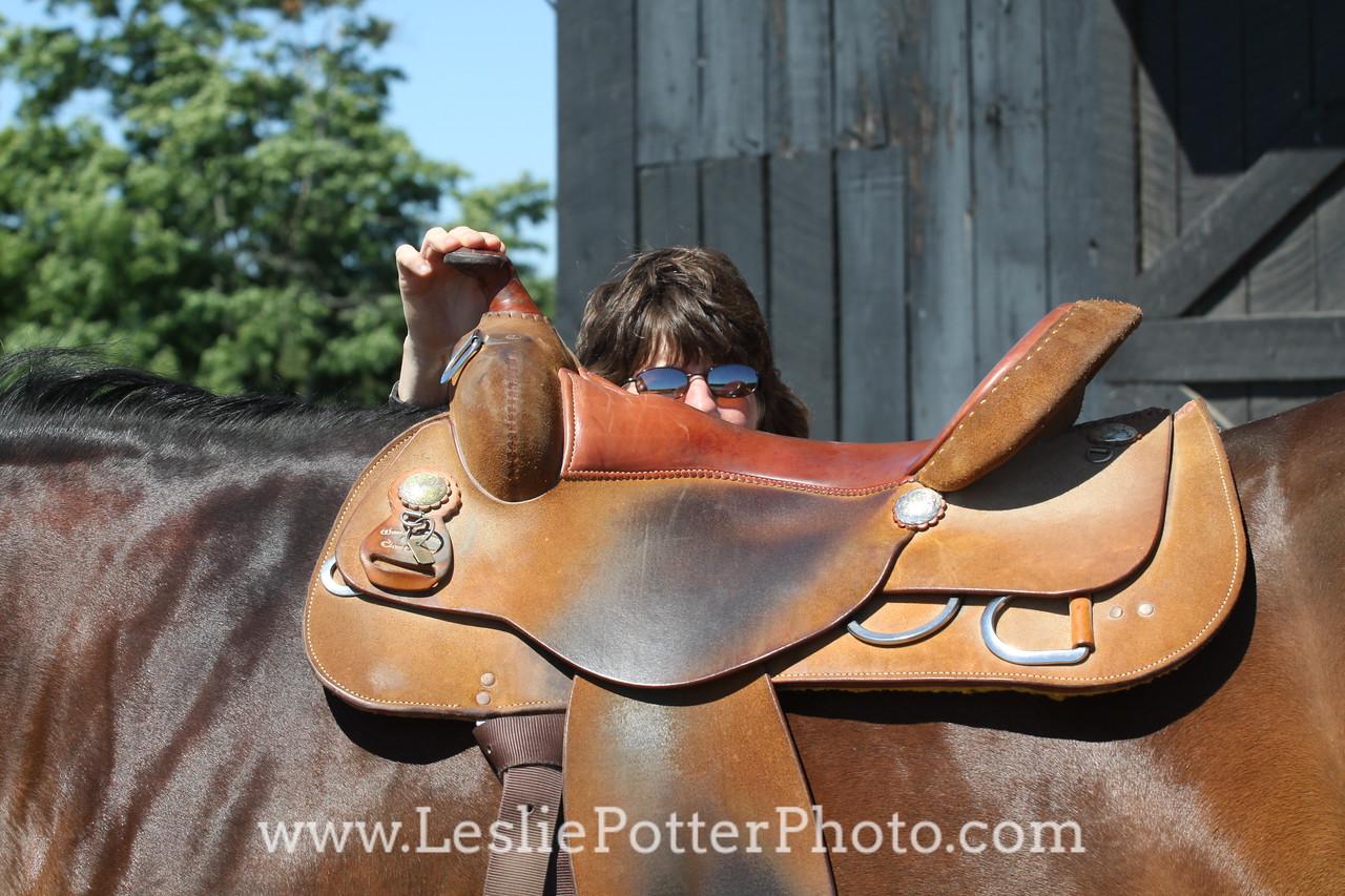 Fitting a Western Saddle