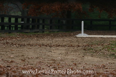Equestrian Riding Arena in Autumn