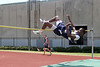 Simon Gabe of Westbury Christian, boys high jump. Photo by Pin Lim.