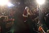 Santa greets his fans during Pearland's Hometown Christmas Festival. Photo by Pin Lim.