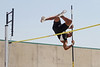 Trey Ramsey of John Paul II, boys pole vault. Photo by Pin Lim.