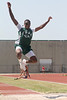 Dylan Nelson of Fort Bend Baptist, Long Jump. Photo by Pin Lim.