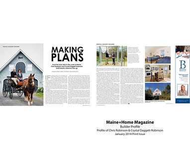 Photographed for Maine Home Design Magazine http://www.mainehomedesign.com/