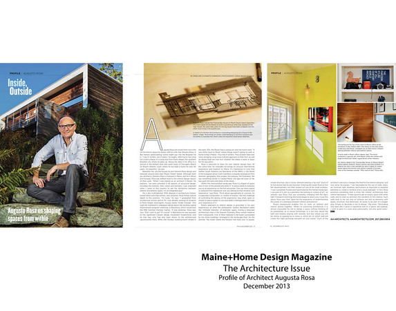 Photographed for Maine Home Design Magazine http://www.mainehomedesign.com/