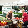 Vendors come from all over to the Farmers Market at teh Kenlands.   Fresh fruit and vegetables abound.