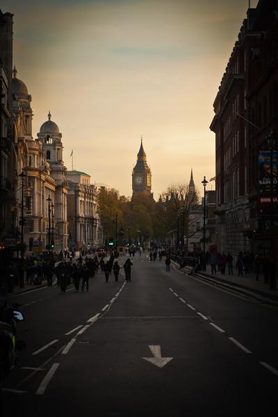 London, Late November, 2010