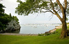 8/7/08 Newport, RI -- A beach which the owners of 145 Harrison Ave. will have deeded access to in New Port RI August 7, 2008.  Erik Jacobs for the New York Times <br /> 30066306A
