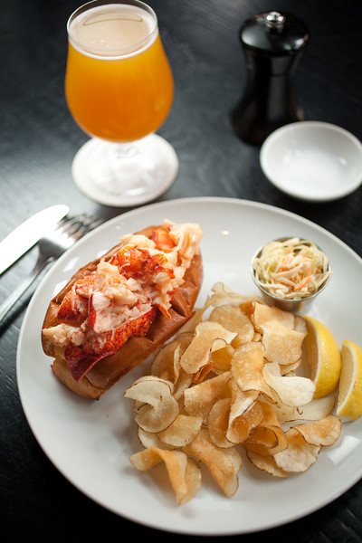 8/25/15 Boston, Mass. -- The Lobster Roll at Row 34 in Boston, Mass. August 24, 2015. Erik Jacobs for the New York Times