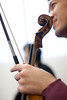 1/10/10 Boston, MA --   2010.  Detail photograph of the Borromeo String Quartet rehearsal at the New England Conservatory January 10, 2020. Erik Jacobs for the New York Times