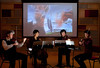 1/10/10 Boston, MA --   2010.  The Borromeo String Quartet practices in Pierce Hall at the New England Conservatory January 10, 2020.  From left is Nicholas Kitchen, Yeesun Kim, Mai Motobuchi and Kristopher Tong.  Erik Jacobs for the New York Times
