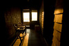 7/26/08 Jamestown, RI -- A hallway leading to a porch at Clingstone, built in 1905 and currently owned by Henry Wood, located in Narragansett Bay, RI.  July  26, 2008.  Erik Jacobs for the New York Times <br /> 30065452A