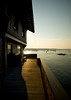 7/26/08 Jamestown, RI -- A porch view at Clingstone, built in 1905 and currently owned by Henry Wood, located in Narragansett Bay, RI.  July  26, 2008.  Erik Jacobs for the New York Times <br /> 30065452A