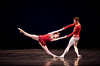 "2/25/09 Boston, MA -- Members of the Boston Ballet perform Rubies, the second act of Balanchine's ""Jewels"" at the Wang Theatre in Boston, MA February 25, 2009.  Erik Jacobs for the New York Times <br /> 30077221A"