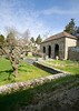 4/26/08 Middletown, RI -- A teahouse looking out on a fruit orchard at 330 Gray Craig Rd on the market for $6.95 million in Middletown, RI, 2008.  Erik Jacobs for the New York Times <br /> 30060965A