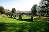 4/26/08 Middletown, RI -- A walled orchard and a freestanding teahouse which sits on 8.5 acres at 330 Gray Craig Rd on the market for $6.95 million in Middletown, RI, 2008.  Erik Jacobs for the New York Times <br /> 30060965A
