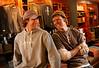 "10/30/07 Boston, MA -- Portrait of (from left) Bert and John Jacobs at their ""Life is Good"" apparel store in Boston, MA, 2007.  Erik Jacobs for the New York Times<br /> <br /> 30051457A"