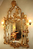 """9/28/09 Middletown, RI -- An American Rococo Revival mirror from the 1830's owned by Maryalice Huggins and the subject of Huggins' book called, """"Aesop's Mirror: A Love Story.""""  Erik Jacobs for the New York Times <br /> 30085759A"""