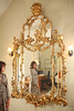 """9/28/09 Middletown, RI -- Portrait of Maryalice Huggins and her American Rococo Revival mirror from the 1830's which is the subject of Huggins' book called, """"Aesop's Mirror: A Love Story.""""  Erik Jacobs for the New York Times <br /> 30085759A"""