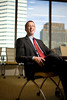 10/3/08 Boston, MA -- Portrait of Chuck Myers, portfolio manager for small cap retirement funds at Fidelity Investments October 3, 2008.  Erik Jacobs for the New York Times <br /> 30069453C