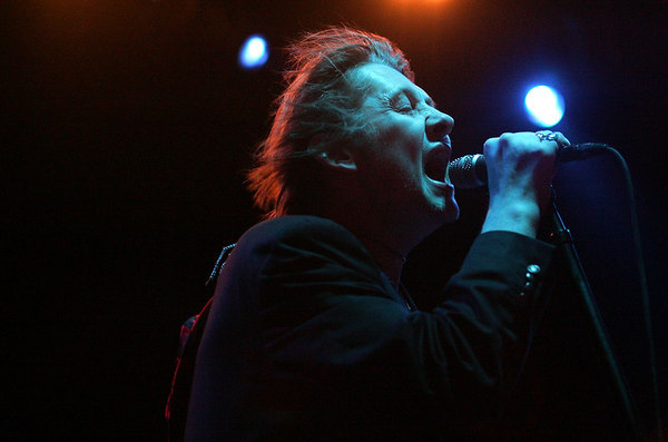 Boston, MA 3/10/07 --  Shane MacGowan of the Pogues performs at Avalon in Boston, MA Saturday March 10, 2007.  Erik Jacobs for the New York Times<br /> 30039365A