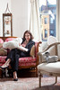 "1/3/10 Boston, MA -- Portrait of Sherry Turkle, MIT professor of the Social Studies of Science and Technology at her home in Boston, Mass. January 3, 2011.  Turkle is pictured with a robotic dog and a robotic seal called ""Paro.""  Turkle is the author of an upcoming book ""Alone Together - Why We Expect More From Technology and Less From Each Other.""  Erik Jacobs for the Chronicle of Higher Education"
