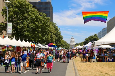 Photo coverage of Sacramento Pride 2017 in Outword Magazine