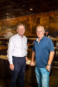 Mike and Jeff Genoves of Poor Red's, photographed for the May 2018 edition of Comstock's magazine