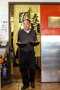Owner of Yang's Noodles photographed for May-June 2017 edition of Edible Sacramento