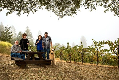Owners of Holly's Hill Winery in Placerville for the October 2017 edition of Comstock's magazine.