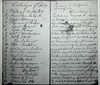 6/25/12 Cambridge, MA -- A photocopy from a Mormon woman's diary describing a cross-country trip which is part of Harvard history professor Laurel Ulrich's current research June 25, 2012.  Photo by Erik Jacobs