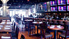 3/9/10 Boston, MA -- ***THIS PHOTO IS A MULTI-PHOTO COMPOSITE MADE BY STITCHING 3 SEPARATE IMAGES TOGETHER*** A view of the interior of Jerry Remy's Bar and Grill in Boston, March 9, 2010.  Erik Jacobs for the Boston Globe