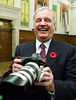 Former prime minister Paul Martin  prepares to take a picture as he  prepares to appear before the  Commons aboriginal affairs committee hearing witnesses on Bill C-292 the Kelowna Accord, on Parliament Hill in Ottawa, Thursday November 9 2006.(CP PHOTO/Fred Chartrand) CANADA