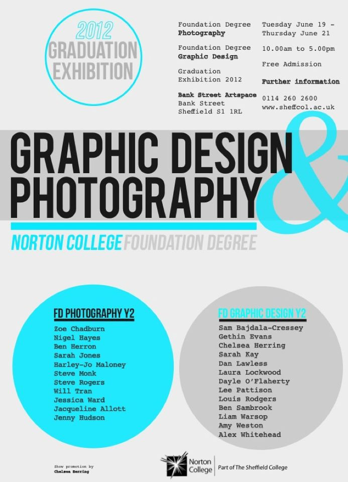 Foundation Degree Exhibition @ Bank Street Art Centre June 2012