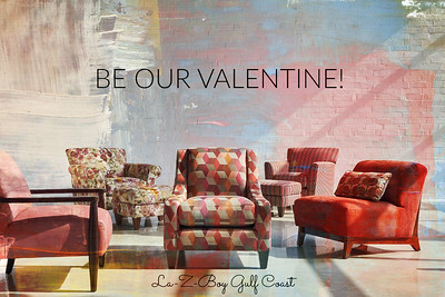 VALENTINE E-CARD LZB painted wall