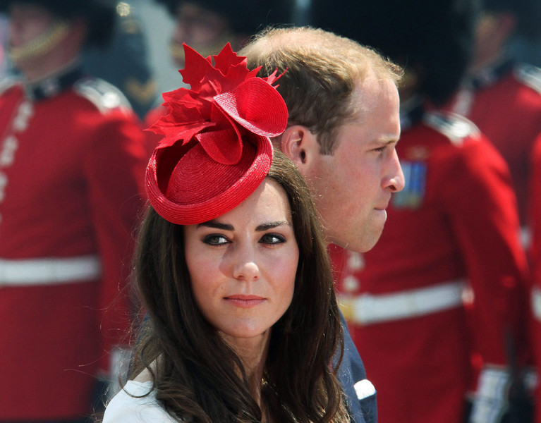 Prince William and Kate, the Duke and Duchess of Cambridge, arrive for Canada Day celebrations on Parliament Hill in Ottawa, Ontario, Friday, July 1, 2011. (AP Photo/The Canadian Press, Fred Chartrand)