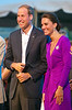 The Duke and Duchess of Cambridge take in the Canada Day evening celebrations and performances  in Ottawa, Friday July 1, 2011. THE CANADIAN PRESS/Fred Chartrand