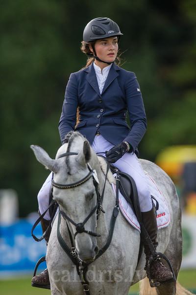 Monika VALUNTAITE (LTU) with the horse CELIC, World Cup competition, Grand Prix Riga, CSI2*-W, CSIYH1* - Riga 2016, Latvia