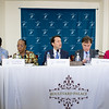 Monrovia, Liberia October 12, 2017 - TCC Press conference two days after the 2017 elections.