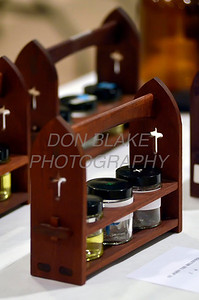Each Parish is given the oils after their blessings during the Chrism Mass at Holy Cross Church in Dover, Del., Monday, April 2, 2012. photo/www.DonBlakePhotography.com