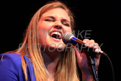Sydney Dibernardo sings during Ursuline Academy Coffee House at The Queen in Wilmington, Del., Sunday, April 23, 2012. photo/ Don Blake Photography