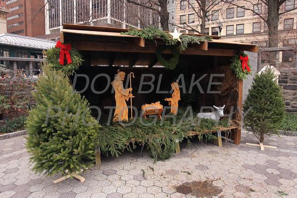 Creche on Rodney Square, Saturday, December 17, 2011. Don Blake Photography.com