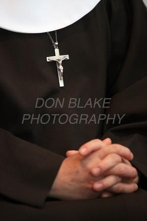 Sr. Maria Elena Romero at the Capuchin Poor Clares, St. Veronica Giuliani Monastery in Wilmington. photo/Don Blake Photography.com