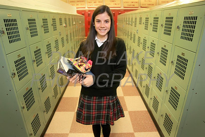 Ursuline Academy sophomore Kennedy Wong runs track and cross country. photo/Don Blake Photography.com