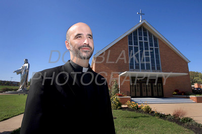 Fr. John Grimm, Pastor at Holy Spirit Parish. photo/Don Blake Photography