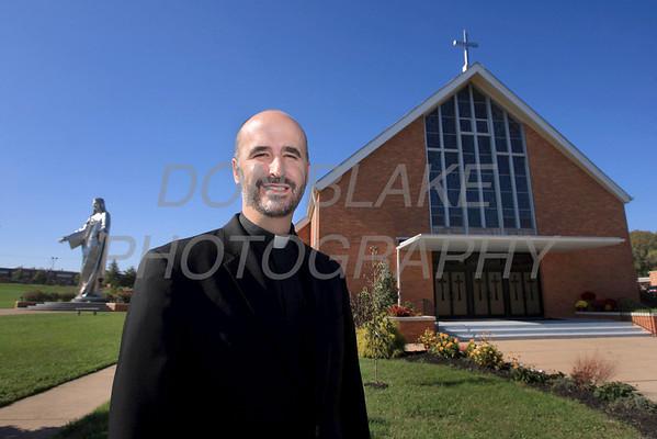 Fr. John Grimm, Pastor at Holy Spirit Parish. photo/Don Blake Photography