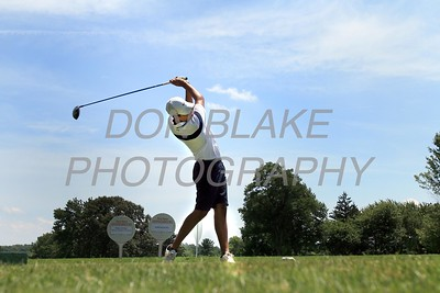 Dominic Leoni tes off at the 10th hole during the 24th Annual CYM Golf Tournament at Cavalier Country Club, Monday, July 18, 2016. wwwDonBlakePhotography.com