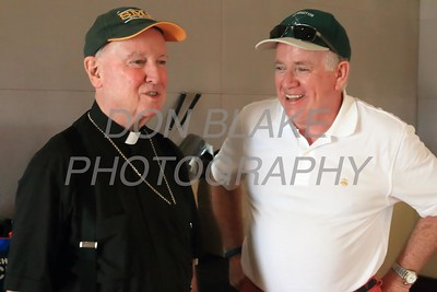 Bishop Malooly talks Bob Hopkins founding Chairman of the Tournament during the 24th Annual CYM Golf Tournament at Cavalier Country Club, Monday, July 18, 2016. wwwDonBlakePhotography.com
