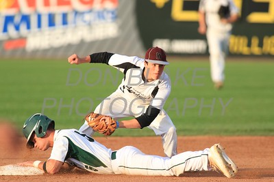 St. Mark's Tyler Kaczmarczyk slides into 2nd during the 2016 DIAA Baseball Championship at Frawley Stadium, Tuesday, May 31, 2016. wwwDonBlakePhotography.com