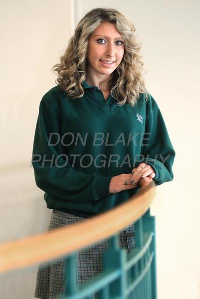 Danielle Trofa, St. Mark's senior track athlete. photo/Don Blake Photography