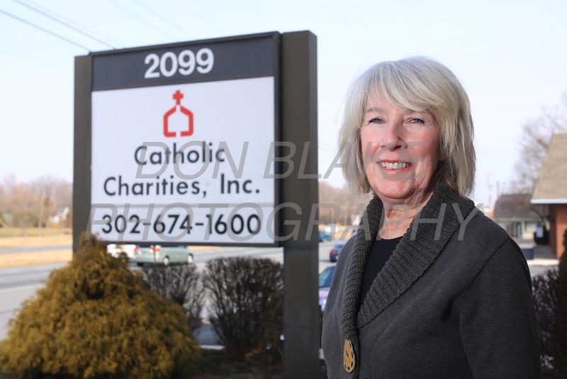Katrina Eichler of Catholic Charities in Dover. photo/ www.DonBlakePhotography.com